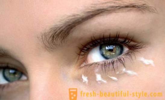 Как да премахнете бръчки около очите? Крем, маска на..